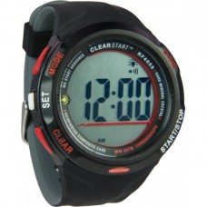 Ronstan Clear Start™ Sailing Watch, black red